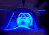 Lámparas de luz azul para el acné